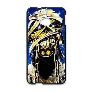 HTC One M7 Cell Phone Case Black Iron Maiden Kmvx