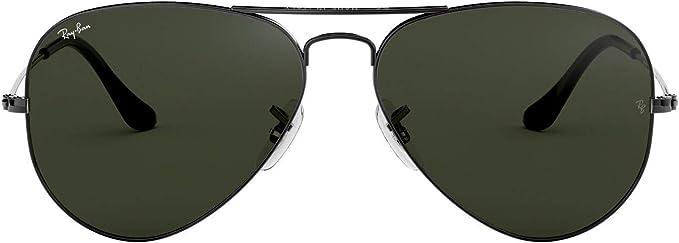 Ray Ban Hombre Gafas de Sol de Aviador RB3025, Gris