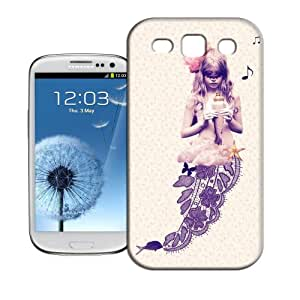 Hot Sale!WLQ Phone Cover Protector for All People-Mermaid Snap on Hard Plastic Phone Case Skin Shell for Samsung Galaxy S3 Case