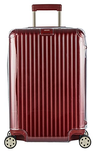 Luggage Skin Protector Clear PVC Transparent Cover for RIMOWA Cabin Multiwheel Salsa Deluxe (for 830.63.50.4) ()