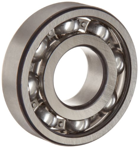 FAG 6306-C3 Deep Groove Ball Bearing, Single Row, Open, Steel Cage, C3 Clearance, Metric, 30mm ID, 72mm OD, 19mm Width, 24000 rpm Maximum Rotational Speed, 3650 lbf Static Load Capacity, 6550 lbf Dynamic Load Capacity