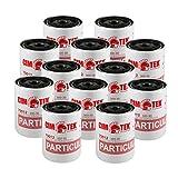 Cim-Tek 70012-12 300-30 Spin-On Filter Particulate 12-Pack