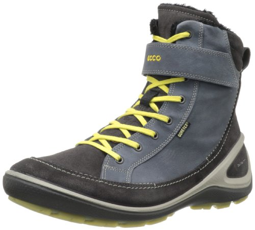 Ecco Biom Grip Moonless/moonless Sue/madrone, Bottes femme Gris - Grau (MOONLESS/MOONLESS)