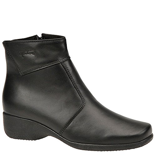 Ankle Closed Fashion Black Marsha Toe Leather Martino Womens Boots tTqXt6