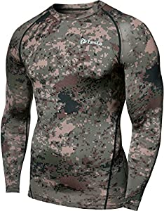 Tesla TM-R34-XB_Small Men's Thermal Wintergear Compression Baselayer Long Sleeve Top R34