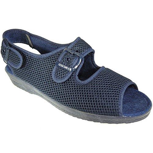 Calzados Romero Women's Slippers Blue cusjqbtzo
