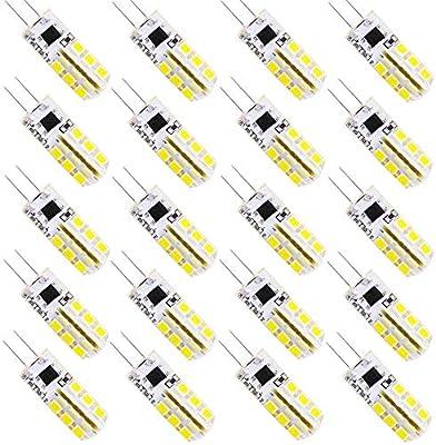 Bombilla LED G4 de bajo consumo 3 W, tres temperaturas de color, bombilla LED, repuesto para ...