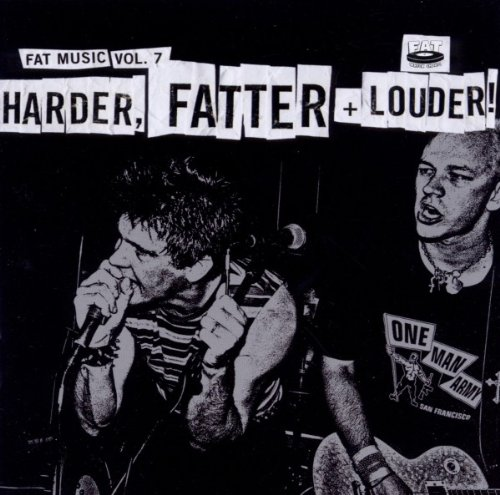 CD : Various Artists - Fat Music, Vol. 7: Harder, Fatter And Louder (CD)