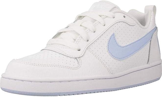 Nike Court Borough Low (GS) Chaussures de Basketball Femme