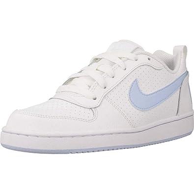 super popular 2a196 ff115 Nike Damen Court Borough Low (gs) Basketballschuhe Mehrfarbig (White/Royal  Tint 103