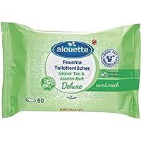 Alouette Islak Tuvalet Kağıdı Yeşil Çay&Yasemin Kokulu 50 Adet