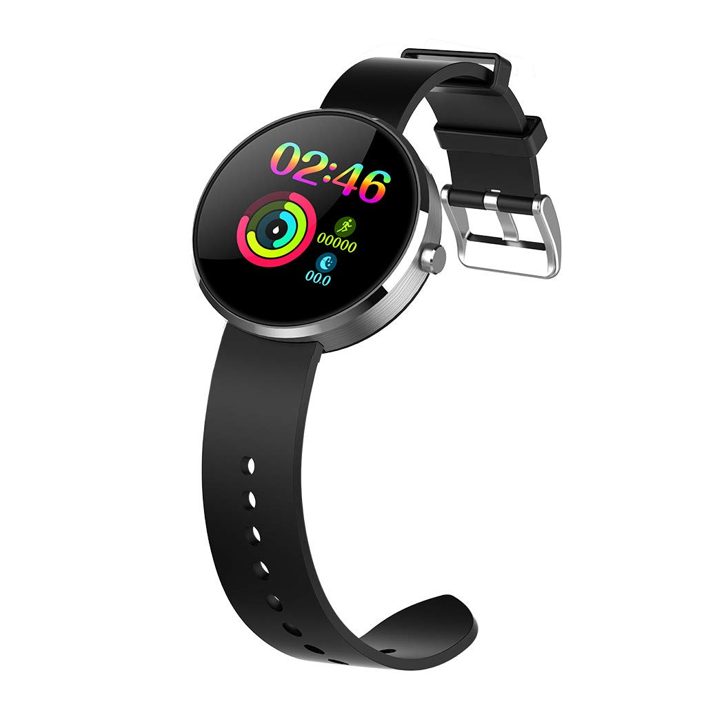 YNAA for Android iOS, Sport Smart Watch, Fitness Calorie Heart Rate Monitoring Physiological Cycle Reminder Smart Bracelet (D) by YNAA (Image #1)