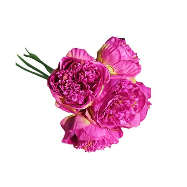 Artificial-PeonyClearance-1Bouquet-5-Heads-Artificial-Peony-Silk-Flower-Leaf-Home-Bridal-Wedding-Party-Festival-Bar-Decor
