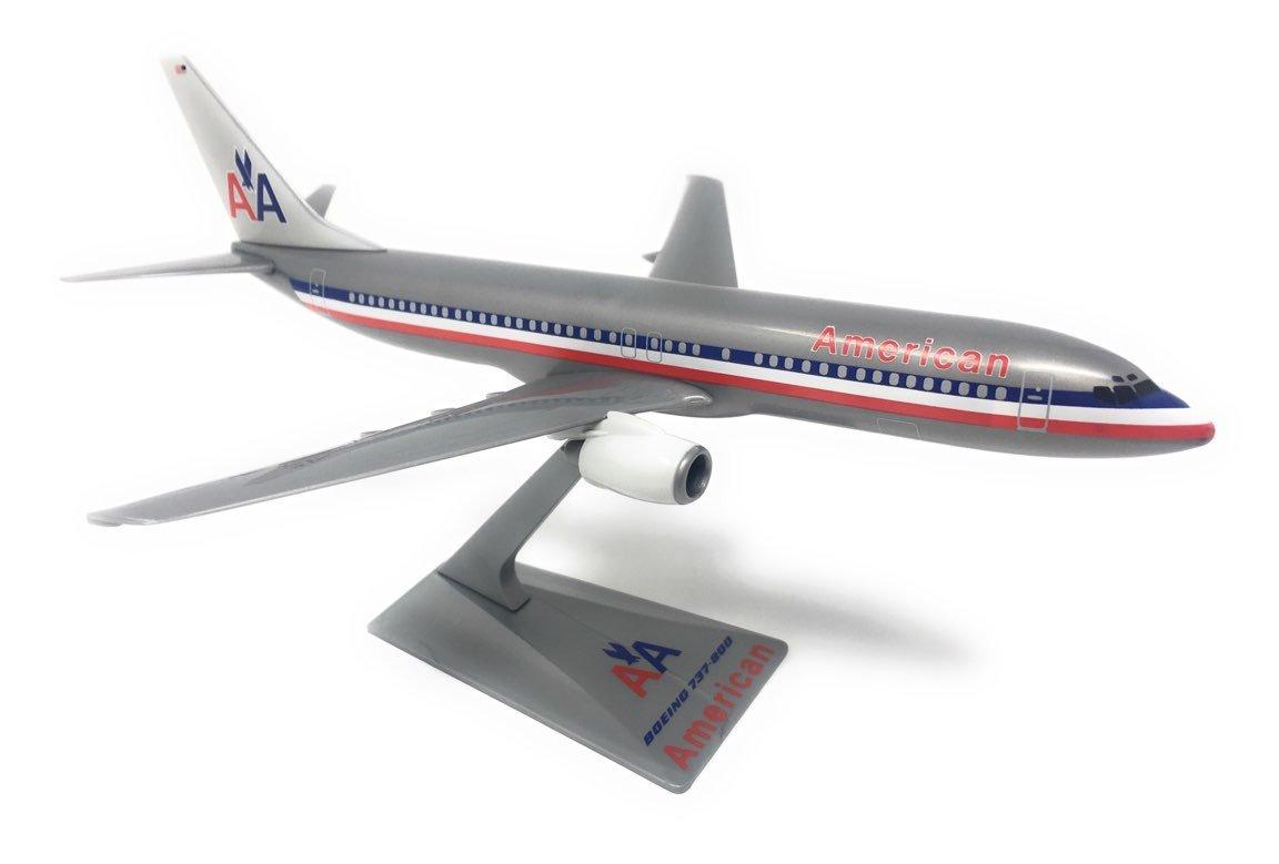 American Astrojet 737-800 Airplane Miniature Model Snap Fit Kit 1:200 Part# ABO-73780H-200 Genesis Worlwide