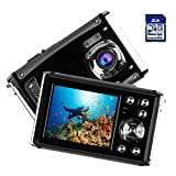 "Photo : Kids Waterproof Camera, Digital Underwater Camera for Children, 16MP 1080P HD Action Camera with 3M Waterproof, 2.4"" LCD Screen, 8x Digital Zoom, Flash, and Rechargeable Battery(16G SD Card Included)"