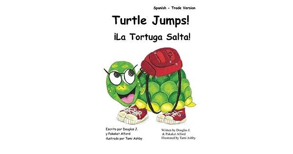 Amazon.com: Turtle Jumps! La Tortuga Salta! Spanish - Trade ...