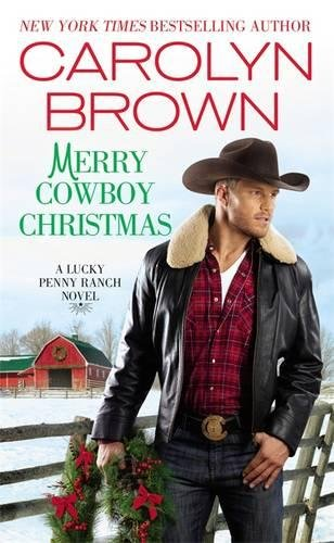 book cover of Merry Cowboy Christmas
