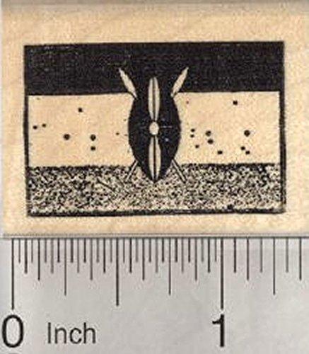 Flag of Kenya Rubber Stamp