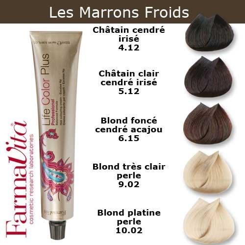 Coloration Cheveux Farmavita Tons Marron Froids Châtain Clair