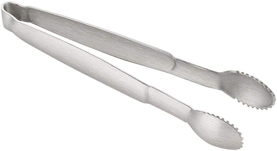 Serving Appetizers Coffee Bar Stainless Steel Mini Cube Ice Tongs Silver Perfect for Tea Party Silver Mini Sugar Tongs,10cm Serving Tongs