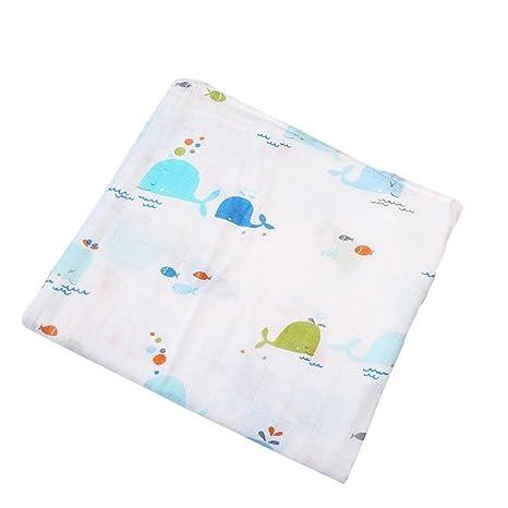 Minuya - Manta de muselina para bebé (algodón), diseño de ...
