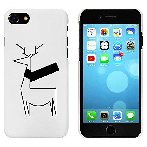 Blanc 'Fête des Rennes' étui / housse pour iPhone 7 (MC00075786)