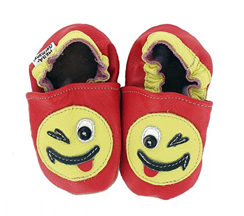 Hobea Germany Chaussures Premiers pas Smiley Design Taille 18/19