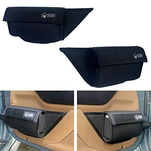 - AMI Jeep JK Door Pockets, 11-18 JK/JKU Wrangler Door Net Replacement by Atomic Monkey Industries