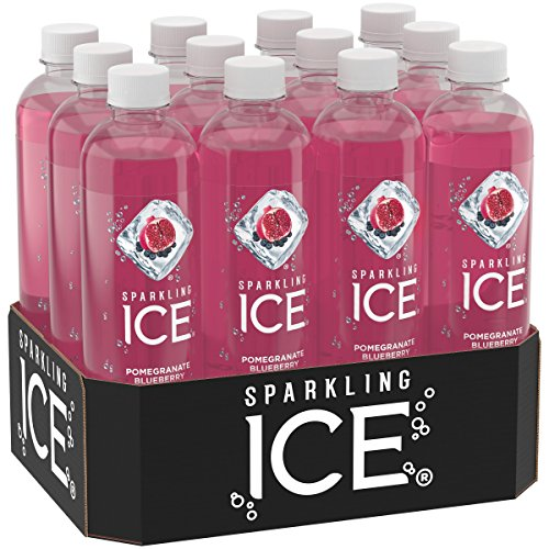Sparkling Ice Pomegranate BlueBerry, 17 Ounce Bottles (Pack of 12)