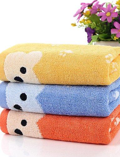 """QUEENS 1 pieza completa lavar toalla de algodón 10"""" por 19"""" de dibujos animados"""