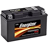 Energizer ET7B AGM Motorcycle and ATV 12V Battery, 85 Cold Cranking Amps and 6.5 Ahr.  Replaces: YT7B-BS and others