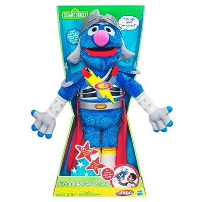 Sesame Street Flying Super Grover 2.0: Toys & Games