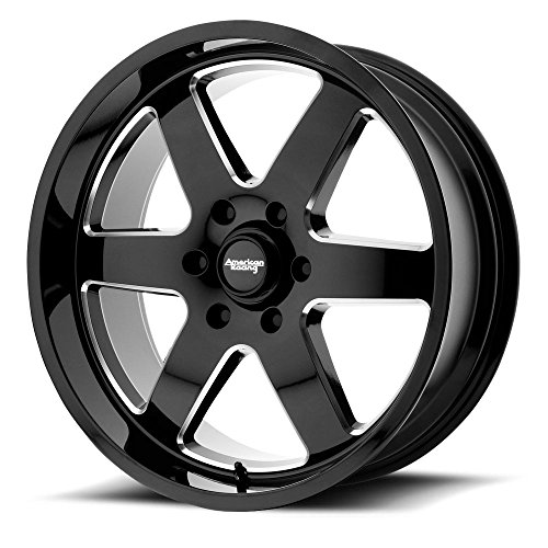 American Racing AR926 Patrol 17×8.5 5×114.3 +0mm Black/Milled Wheel Rim
