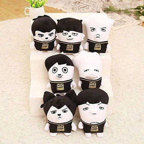 Bts Bangtan Boys All Members Kpop Funny Ugly Cute Plush Doll Bts
