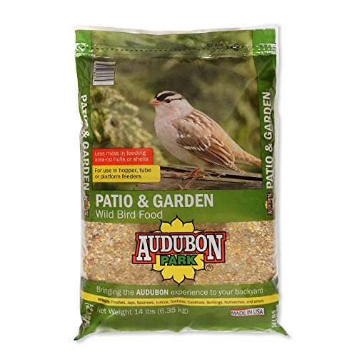 Audubon Park 12238 Patio and Garden Wild Bird Food, 14-Pounds by Audubon Park