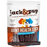 """#6: Jack&Pup 6"""" Joint Health Support Sticks Dog Treat Chews (25 Pack) – Fresh and Savory Beef Gullet Sticks - Naturally Rich in Glucosamine and Chondroitin - Promotes Healthy Joints and Tissue Growth"""