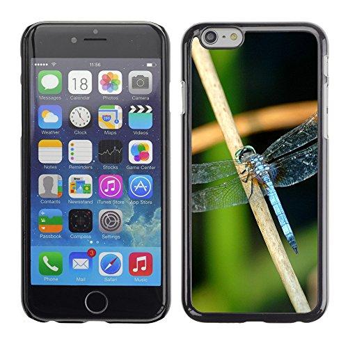 "Premio Sottile Slim Cassa Custodia Case Cover Shell // V00003001 libellule bleue // Apple iPhone 6 6S 6G 4.7"""