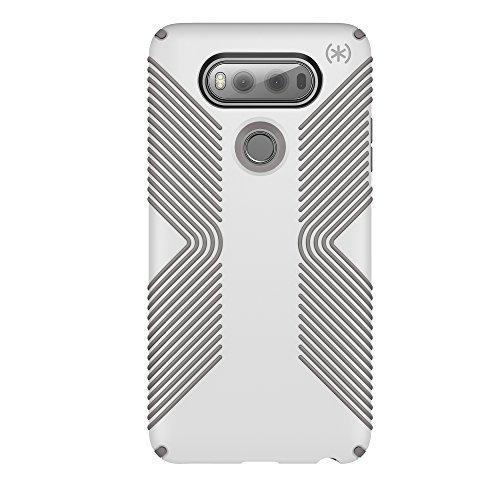 Speck Products Presidio Grip Cell Phone Case for LG V20 - White/Ash Grey