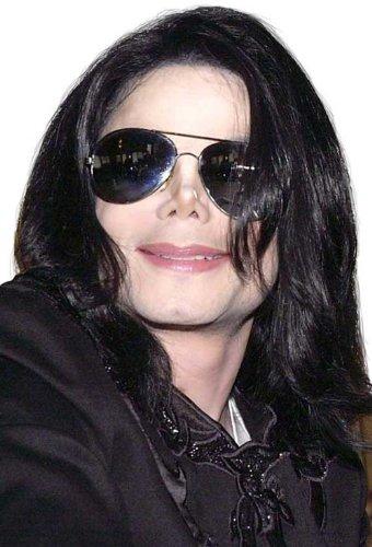 Michael Jackson Licensed Adult Wig & Glasses Set - Michael Jackson Aviators
