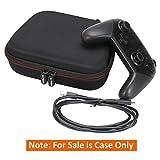 Nintendo Switch Pro Controller Case - LTGEM EVA Protective Hard Carrying Case for Nintendo Switch Pro Controller (Black)