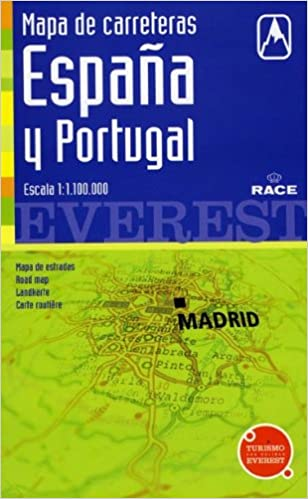 Mapa de carreteras de España y Portugal. 1:1.100.000: Cartografía digital georreferenciada. Mapas de carreteras: Amazon.es: Cartografía Everest: Libros