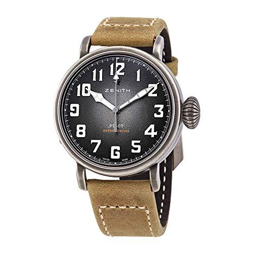 Zenith Pilot Type 20 Automatic Grey Grained Dial Men's Watch 11.1940.6799/1c807