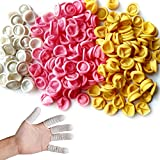 Glittery 220 PCS Disposable Latex Finger