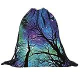 VIASA Gym Sack Bag Drawstring Backpack Sport Bag for Men & Women Sackpack,Multicolor For Sale