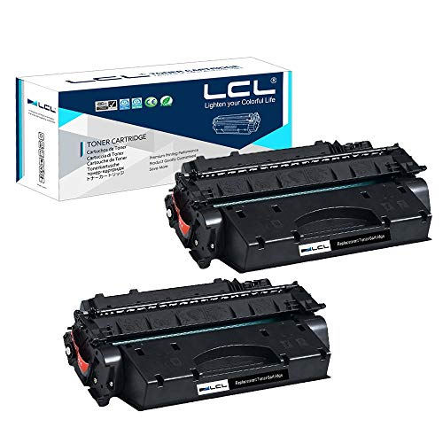 LCL Compatible Toner Cartridge Replacement for Canon 120 CRG120 CRG-120 2617B001 D1120 D1150 D1170 D1180 D1320 D1350 D1370 D1520 D1550 (Black 2-Pack)