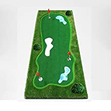 CRESTGOLF Golf Putting Green System Professional Practice Green Indoor/outdoor Golf Training Mat Aid Equipment ---Large size