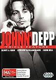 Johnny Depp Triple Benny And Joon / From Hell / Edward Scissorhands DVD