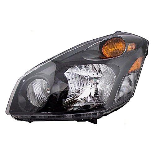 Drivers Halogen Combination Headlight Headlamp Replacement fits 04-09 Nissan Quest 260605Z026