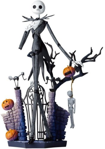 Revoltech Nightmare Before Christmas Jack Skeleton Non-Scale ABS&PVC Painted Figure
