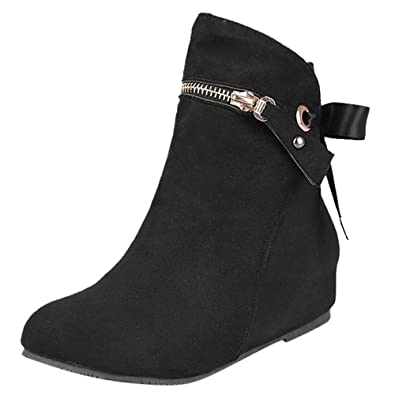 99c14640978 ZYUEER 2018 Neuf Bottes Femme Hiver Chaussure Femme Ankle Boots ...